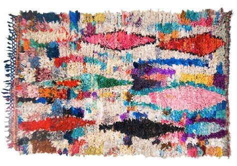 Boucherouite Colorful Rug
