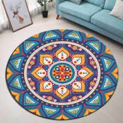 Moroccan Pattern Area Rug – a Beautiful Color Palette