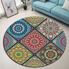 Moroccan Pattern Area Rug