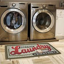 Waterproof Laundry Floor Mats
