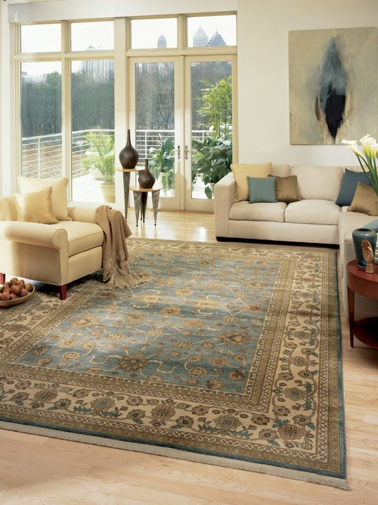 Acrylic vs. polypropylene rugs