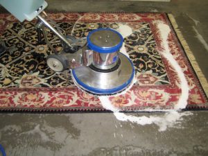 Clean polypropylene rugs
