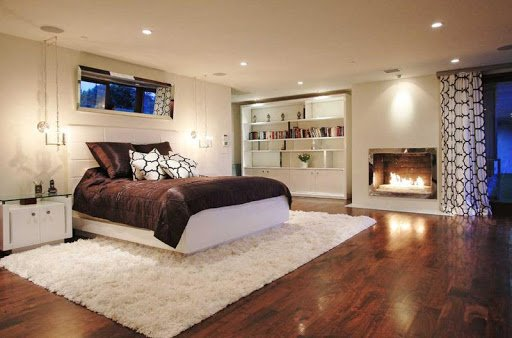 Master bedroom area rugs